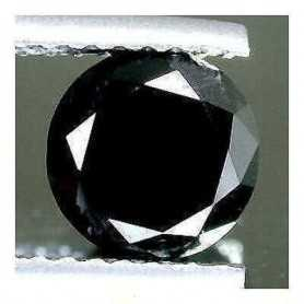 BLACK DIAMOND 0.17 ROUND BRILLIANT CARAT FOR TOP QUALITY